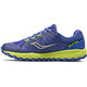 saucony Peregrine 7 Running Shoes Women yellow/purple